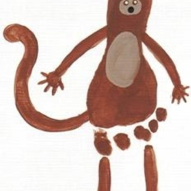 Crafts Animals Monkey Children S Crafts Pinterest