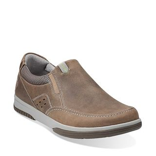 Clarks Originals - Wavecamp Easy Olive Oily Nubuck $135. here's no  sacrificing style for comfort with this men's slip-on shoe from WAVEWALK™.
