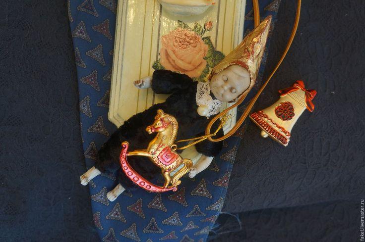 Buy Art Doll Ornament Christmas - Christmas decoration doll - Mixed Media - christmas decoration