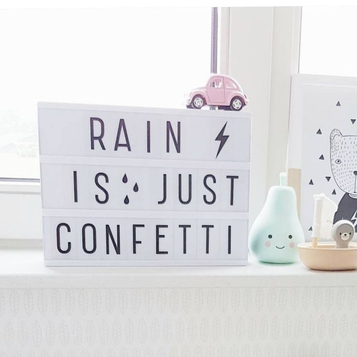 """Gefällt 825 Mal, 10 Kommentare - A Little Lovely Company™ (@alittlelovelycompany) auf Instagram: """"☔Always remember this when you have a rainy day...;-) thx @annezozo #pearlight #lightbox…"""""""