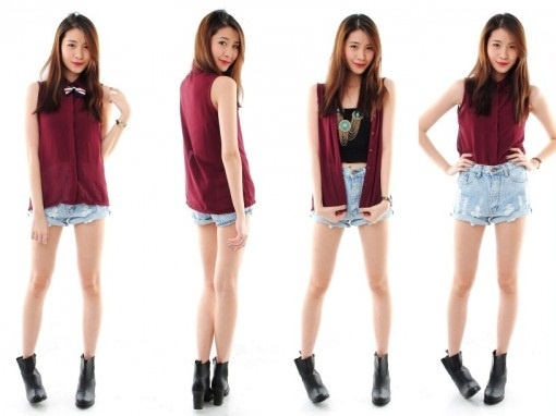 Burgundy never looked this good