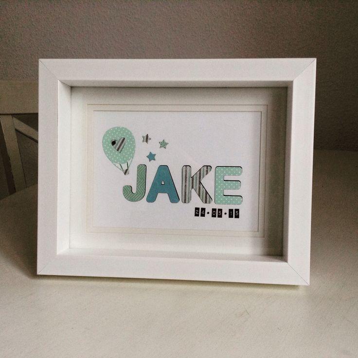 A cheeky little christening present for little Jake