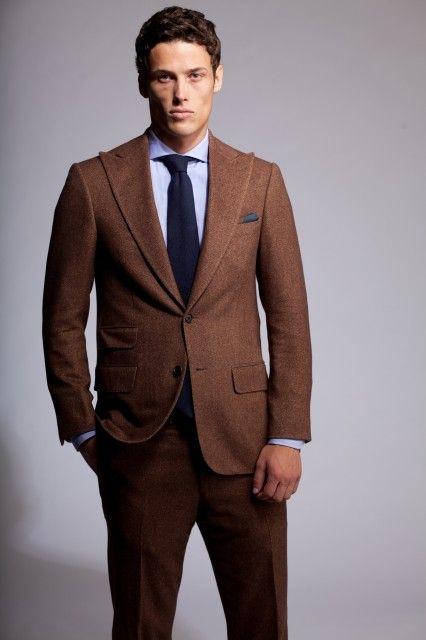 Best 25  Brown tweed suit ideas on Pinterest | Tweed suits, Mens ...