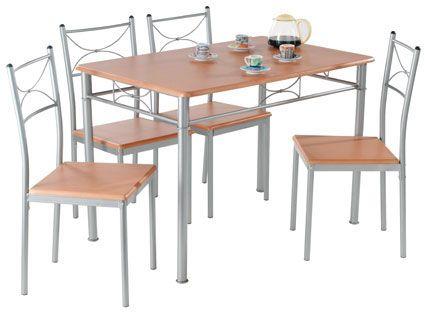 Tischgruppe Amadea Die Tischgruppe Amadea besteht aus einem Tisch mit den vier dazu passenden Stühlen. Die über Kreuz geschwungenen Stäbe und der Lasurfarbton erinnern an laue Sommerabende in der Toskana....