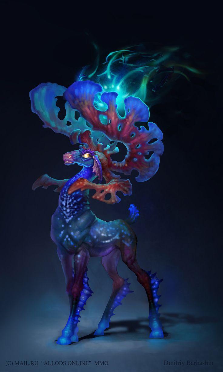 """""""Allods Online"""" concept art by Dmitriy Barbashin"""