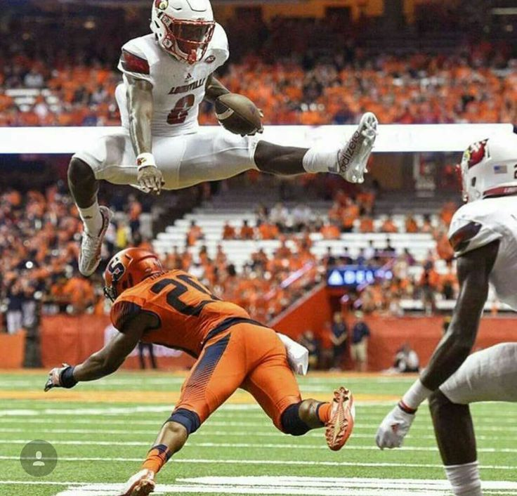 Lamar Jackson of Louisville is the most electrifying player in the country and will probably win the Heisman Trophy.