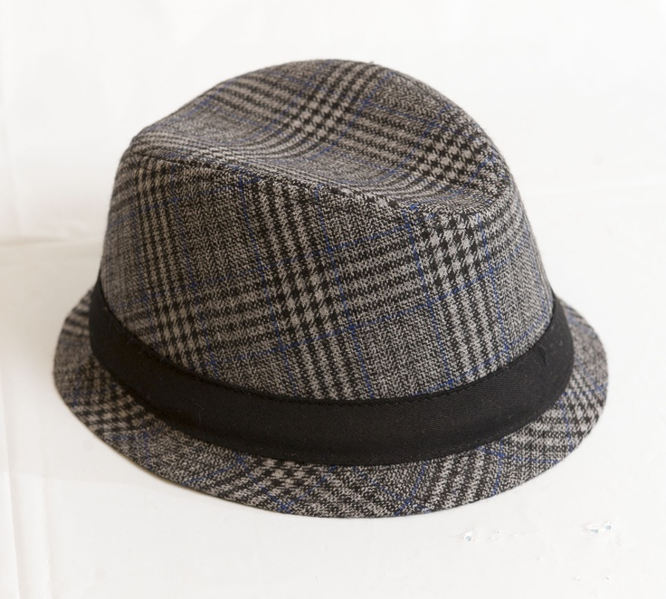 RETRO COOL: Grey and navy Fedora hat, $14.95 at TheChildrensPlace.com. Enter to win a $ 500 shopping spree with @TheProvince and Brentwood Town Centre: http://theprov.in/pinandwin #backtoschool