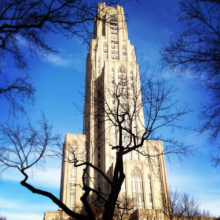 Cathedral Of Learning, Oakland, Pittsburgh, PA University