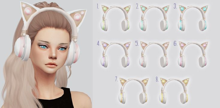 TS4 Limited Ariana Kitty Headphones