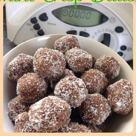 Recipe Peppermint Crisp Balls by Thermie Lovin' - Recipe of category Baking - sweet