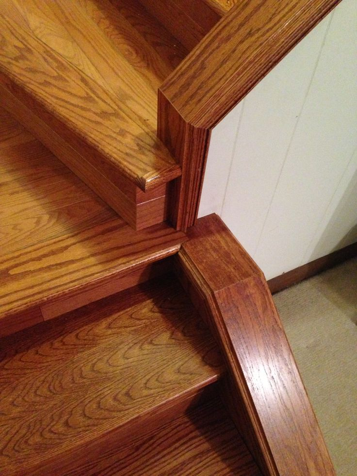 Best Hardwood Stairs Complete Gut Removed Stringers And 400 x 300