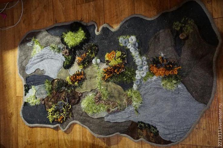 Шьем уютный коврик «Лесная полянка» - Ярмарка Мастеров - ручная работа, handmade