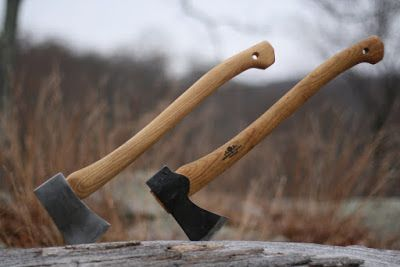 Turn a Northern Tool and Gransfor Handle into a Gransfors Bruks Small Forest Axe clone