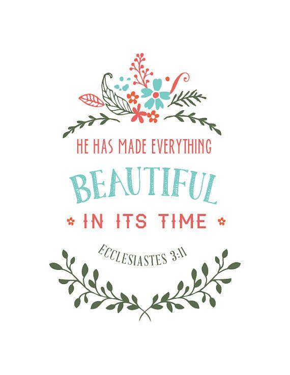 Ecclesiastes 3:11  by IekelRoadDesign