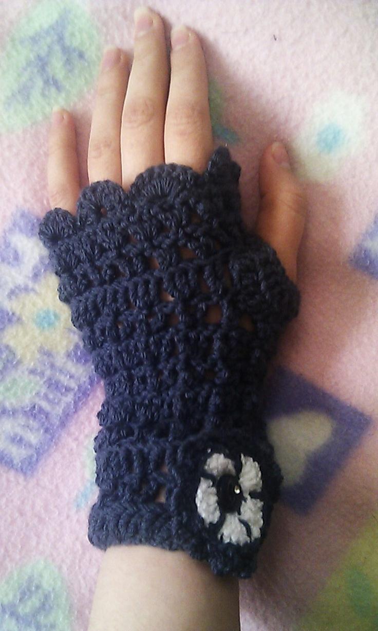 Fingerless gloves darn yarn - Fingerless Gloves