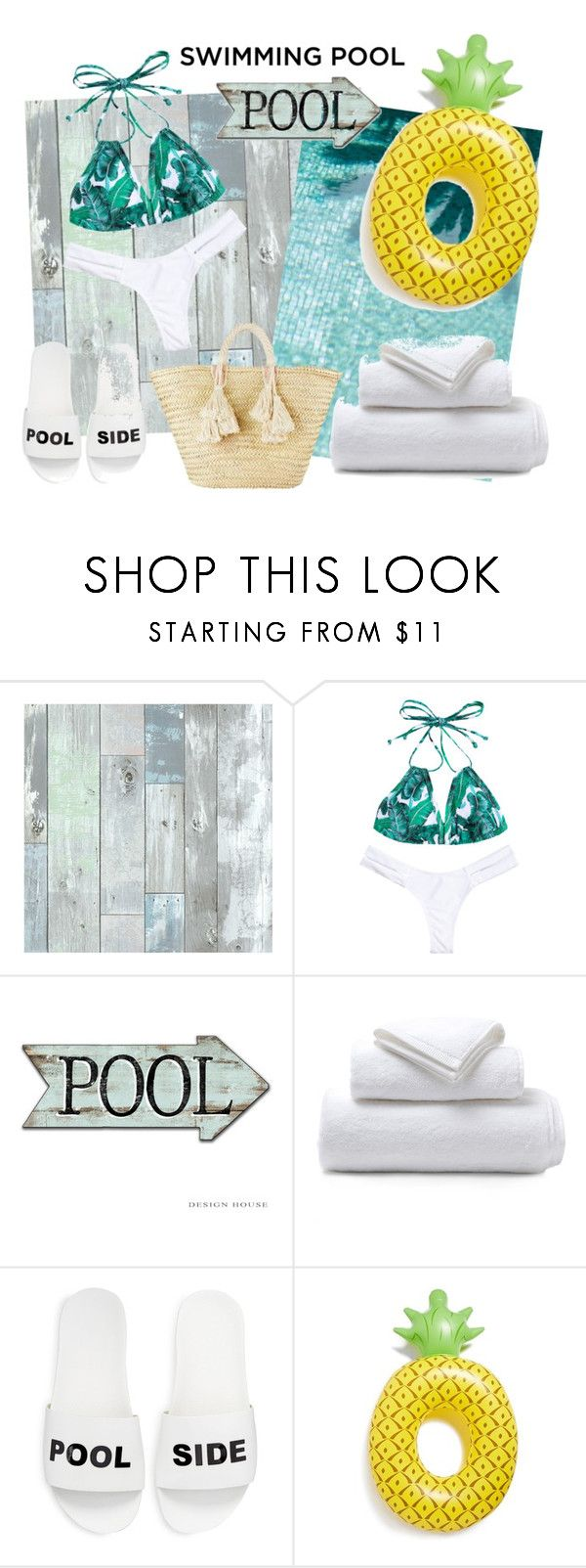 """""""Unbenannt #97"""" by nora-ari ❤ liked on Polyvore featuring interior, interiors, interior design, home, home decor, interior decorating, Wall Pops!, Pigeon & Poodle, Schutz and Big Mouth"""