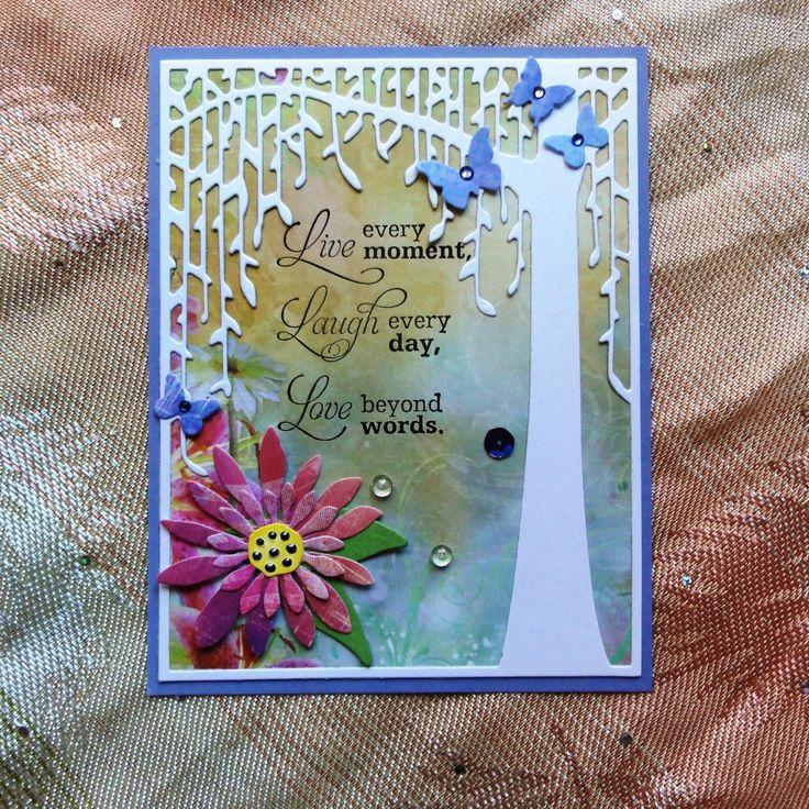 DAISIES GERBERA card sample