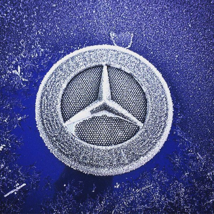 Mattinata particolarmente fredda! Viaggiate sicuri con la tecnologia #4MATIC di #MercedesBenz!