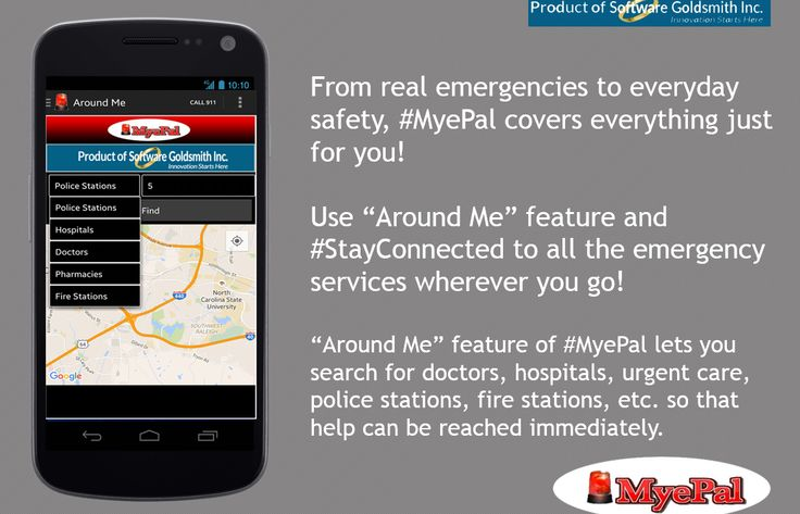"From real emergencies to everyday safety, ‪MyePal‬ covers everything just for you! Use ""Around Me"" feature and ‪StayConnected‬ to all the emergency services wherever you go! Download the app today and see for yourself! ‪Pro‬ https://goo.gl/Nq2c2y ‪trial‬ https://goo.gl/D8Ft58"