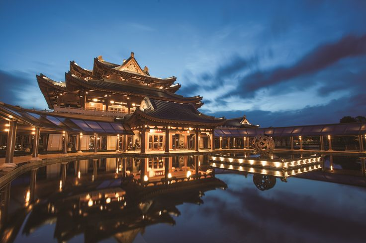 Imperial Springs by night - pure serenity. #romance #romantic #travel