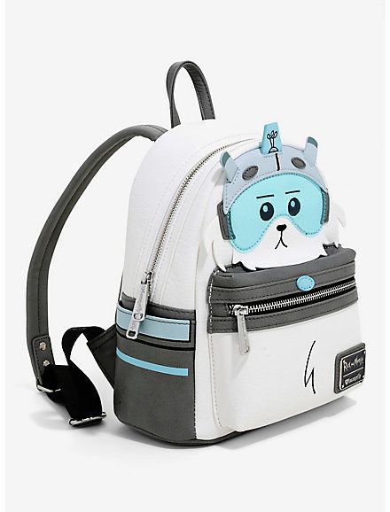 3474f6eb79e Loungefly Rick And Morty Snowball Figural Mini Backpack