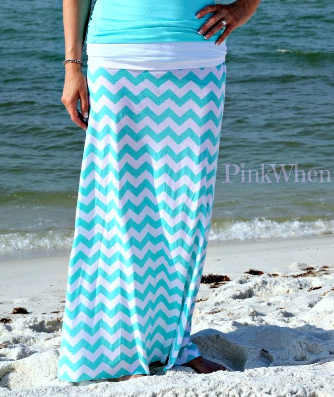 A simple sew and easy Maxi Skirt tutorial.  Perfect for Spring and Summer.