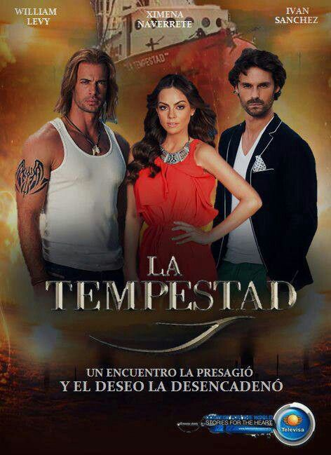La Tempestad- Absolutely hooked!  Mexican soapopera (telenovela) on Univision