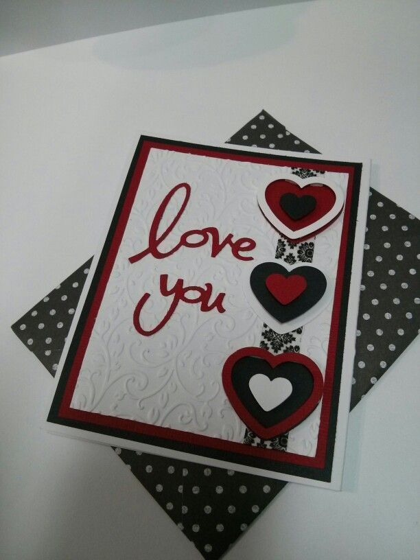 Valentines Card Love The Colors