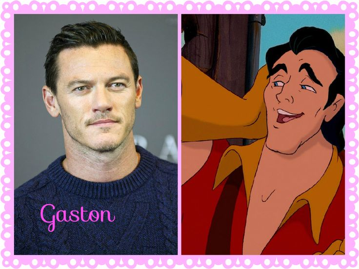 Luke Evans as Gaston: Beauty and the Beast, Beauty and the beast live action versión 2017, Disney, Animated, Fairy tale, La bella y la Bestia 2017