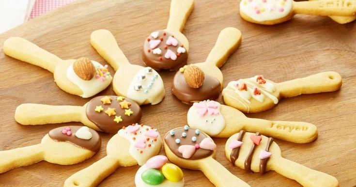 バレンタイン☆HMでスプーンクッキー by クレハ [クックパッド] 簡単おいしいみんなのレシピが257万品