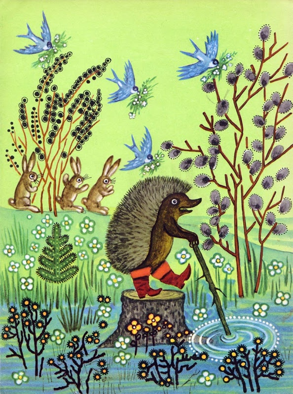 сказки васнецова открытки
