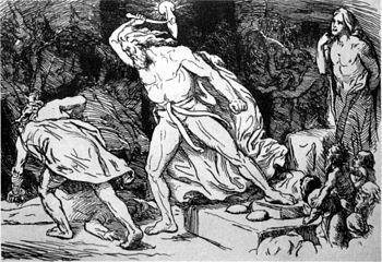 Trym (norrønt: «Þrymr») er en av jotnene i norrøn mytologi med tilhold i Jotunheim. I det komiske gudediktet Trymskvadet («Þrymskviða») fra Den eldre Edda stjeler Trym guden Tors hammer mjølner, og krever å få gifte seg med gudinnen Frøya for å levere den tilbake. Tor kler seg da ut som gudinnen Frøya for å få den tilbake. Gudenes list lyktes, og da Tor fikk hammeren sin i hånden drepte han Trym
