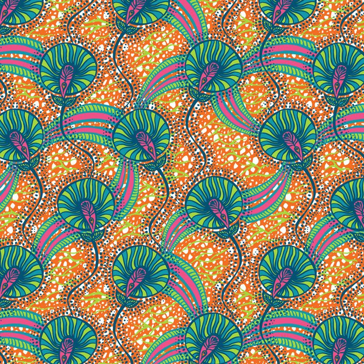LIKE my design Bold African Orange for Swimwear challenge at Printed Village