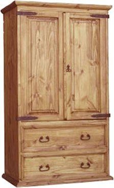 Hacianda TV Wood Armoire
