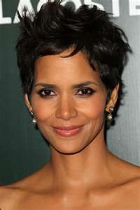 Halle Berry- I have loved this cut for a very long time, if I ever decide to cut my hair, this is what I'm gonna get.