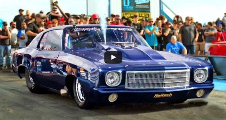 Street Outlaws Doc showed up at No Prep Mayhem spraying more Nitrous to his Heavy Chevy in one race than most people use for entire event.