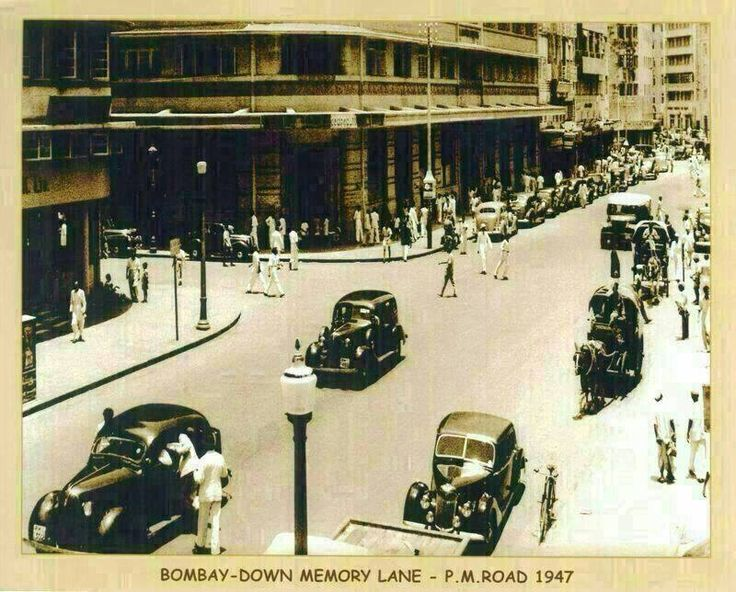 Photos of Old Mumbai (Bombay)