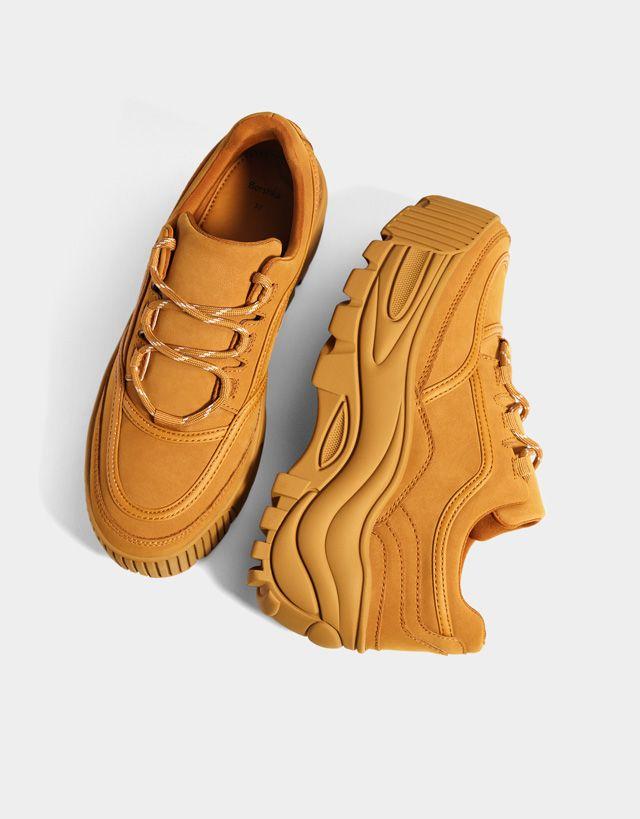 newest d053d 97d03 Обувь - КОЛЛЕКЦИЯ - ЖЕНЩИНЫ - Bershka Russia Кроссовки На Платфоме, Ботинки  Timberland, Nike