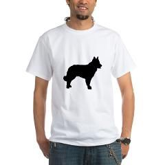 mudi silhouette T-Shirt > Mudi > Paw Prints