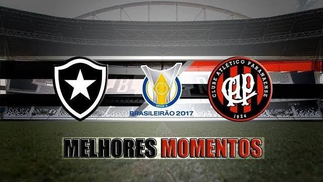 """+LancesTV!: """"Botafogo 0 x 1 Atlético-PR - Melhores Momentos & Gol - Brasileirão ..."""" e mais vídeos"""
