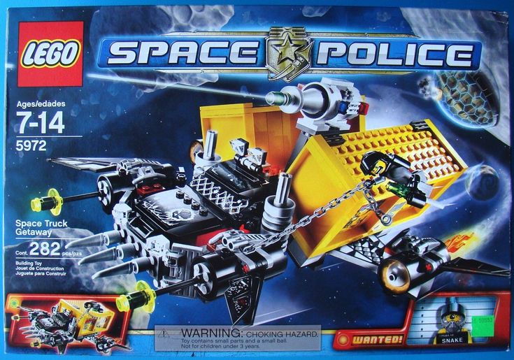 Lego Space Police 5972 Space Truck Getaway - Rare New Unopened & Retired