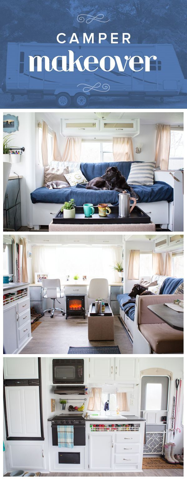 This camper remodel is a great source of inspiration if you're thinking about doing a renovation.
