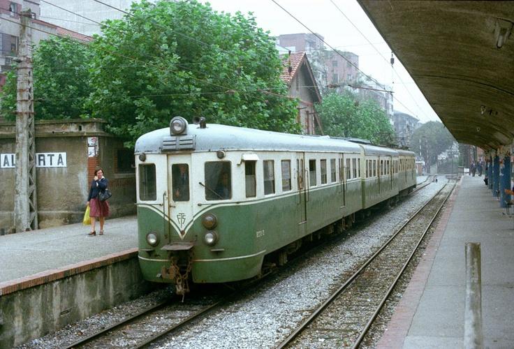 Estación de Algorta, años 80