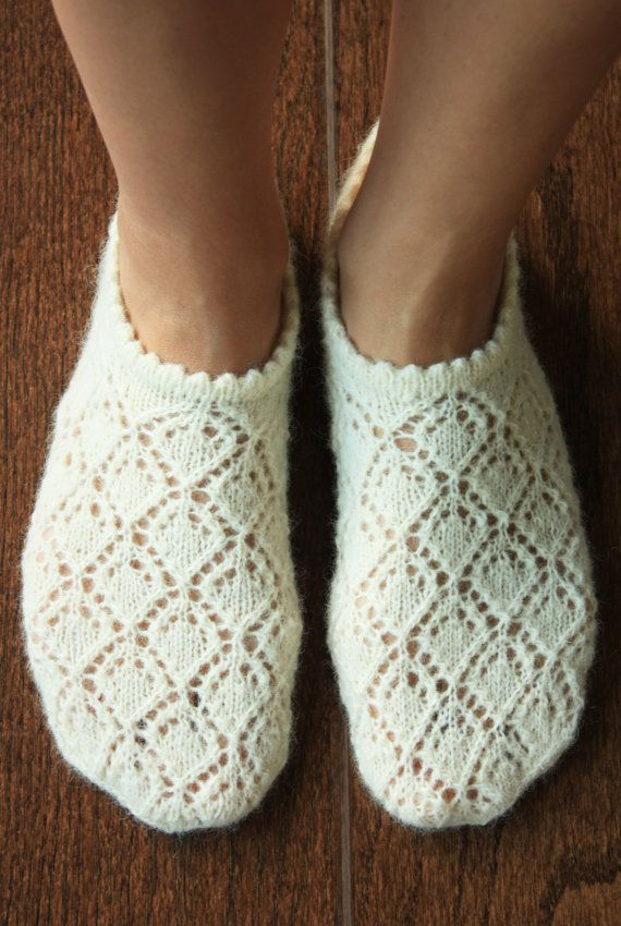 Original garment design by DoubleLknits. These socks are hand knitted by Larissa according to the original and unique pattern design, which is