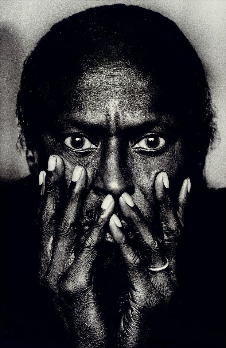 Portrait of Miles Davis, Montreal / Canada by Anton Corbijn, 1985. S)