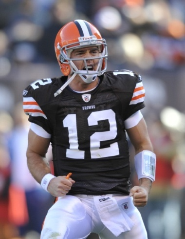 Colt McCoy-The man who should start for the Browns.