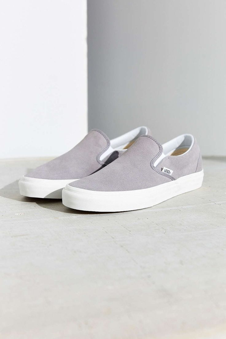 0da1ed5253 vans slip on light grey   Come and stroll!