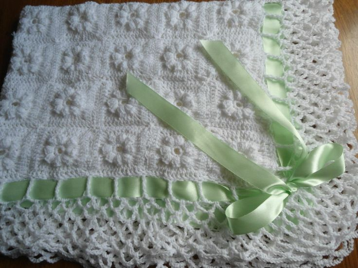Mantilla Al Crochet Para Bebe - $ 250,00 en MercadoLibre ...