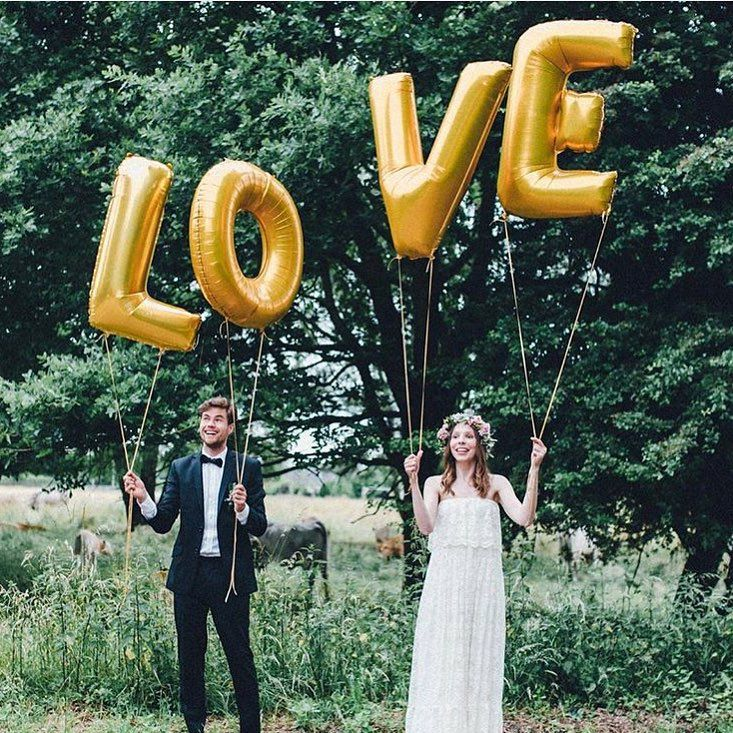 Our beautiful LOVE Ballons used as a giant photo prop!hellip