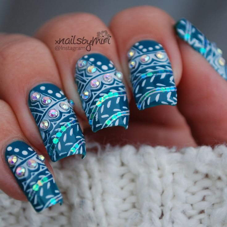 178 best Nail Stamping images on Pinterest | Nail scissors, Belle ...